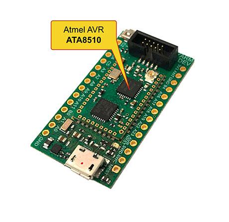 ATA8510 EEPROM programming
