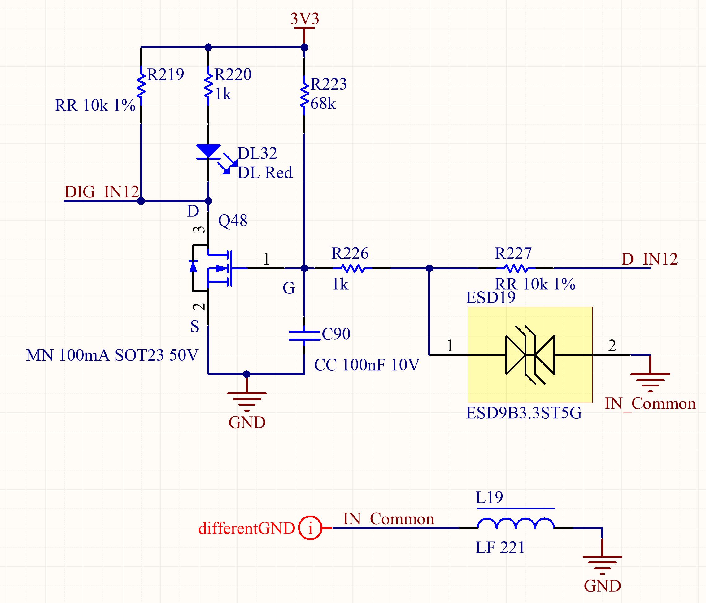 How to design the GPIO circuitry