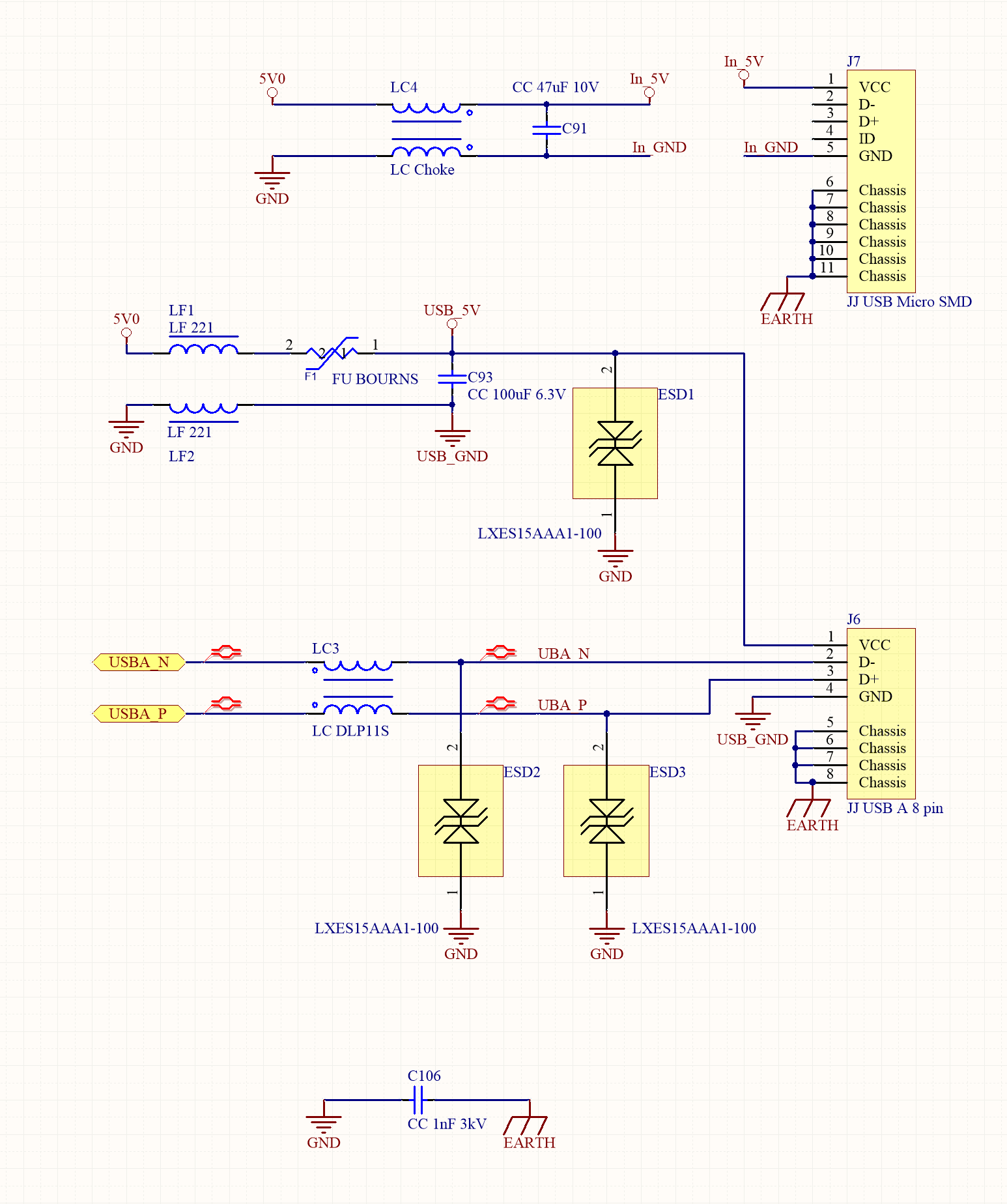 how to design the usb circuitry usb power schematic usb schematic #8