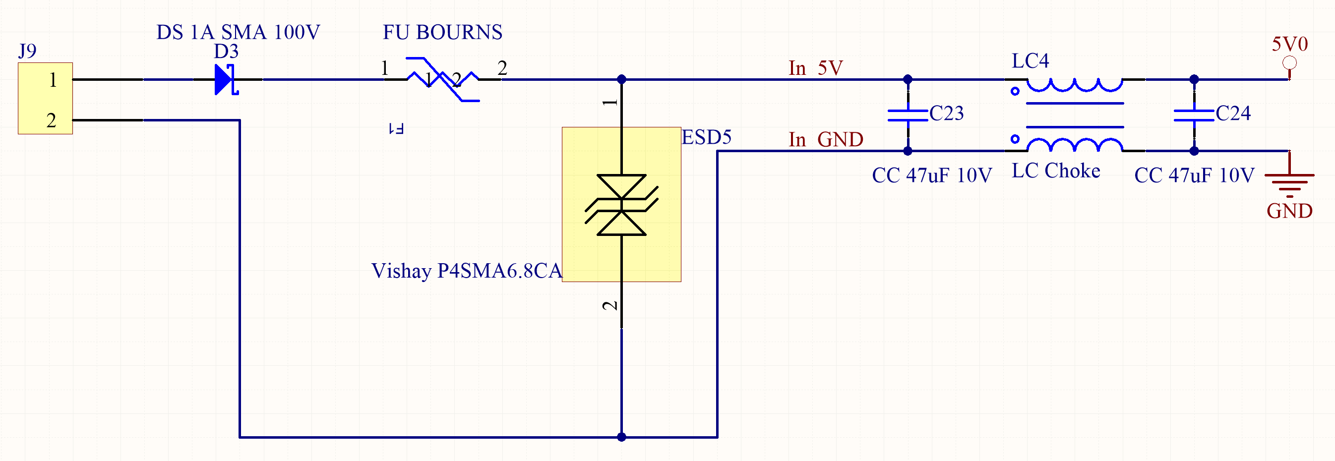 How to design the power supply circuitry